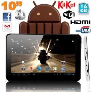 "Yonis Y-tt10pa416go - Tablette tactile 10"" 8 Go interne + Micro SD 8 Go sous Android 4.0"