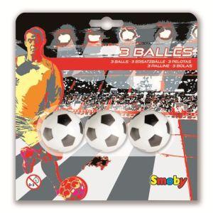 Smoby 3 balles plastique 34 mm