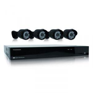 Thomson 512321 - Enregistreur vidéo réseau IP avec 4 caméras