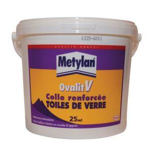 Metylan Colle renforcée toile de verre - Ovalit V - 5 Kg