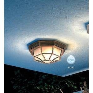 Globo Lighting Lampe d'extérieur Globo PERSEUS Noir, Or, 1 lumière Classique Extérieur PERSEUS