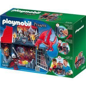 Playmobil 5420 Dragons - Chevaliers dragons transportable