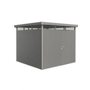 Biohort Highline TH4 modèle 1 porte - Abri de jardin métal 6.35 m² ep.0.53 mm