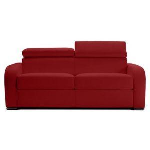 Declikdeco : Canapé Convertible Cuir CESAR