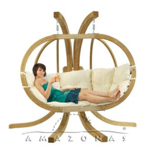 amazonas fauteuil suspendu 2 places royal globo en pic a. Black Bedroom Furniture Sets. Home Design Ideas