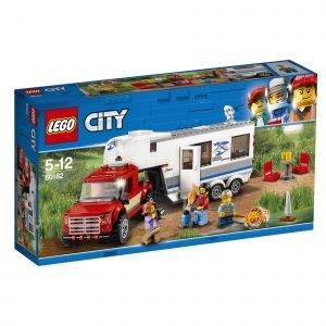 Lego 60182 - City Great Vehicles : Le pick-up et sa caravane