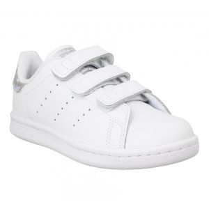 Adidas Stan Smith Blanche Diamant Enfant 29 Baskets