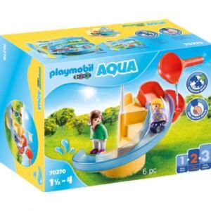 Playmobil 123 AQUA Figurine toboggan aquatique 70270
