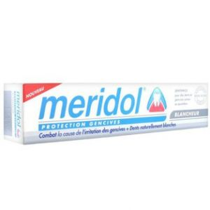 Meridol Blancheur - Dentifrice protection gencives (75 ml)