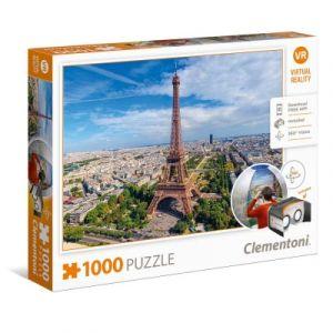 Clementoni Virtual Reality, Paris - Puzzle 1000 pièces