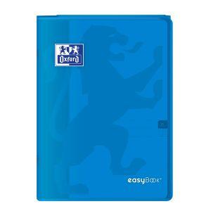 Oxford Cahier Easybook agrafé - 21 x 29,7 cm - 96p seyès - 90g - Bleu