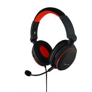 The g-lab Korp Oxygen S Casque Gaming Nintendo Switch - Micro Casque Gamer avec Basses Renforcées, Microphone Détachable, Confortable et Léger - Compatible Switch PC PS4 Xbox One Smartphone (Noir)