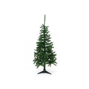 Sapin de Noël Luxe avec pied (120 cm)