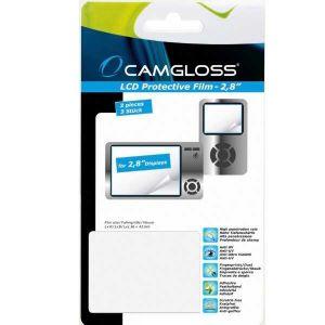 Camgloss Lot de 3 films de protection 2.8 pouces