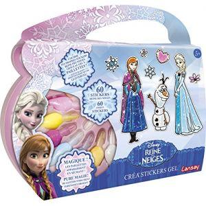 Lansay Crea'stickers Gel La Reine Des Neiges