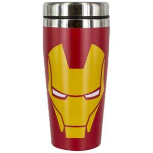 Paladone Mug de voyage Iron Man Face