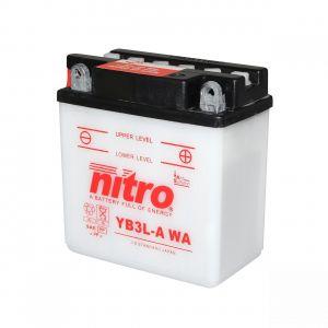 Nitro Batterie YB3L-A 12V 3Ah