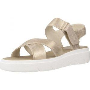 Geox Tamas D92DLE Femme Sandales,Sandales à Plateforme,Dame Sandale,Sandale Plate-Forme,Chaussure d'été,Sandale d'été,Confortable,Semelle épaisse,Beige,38 EU