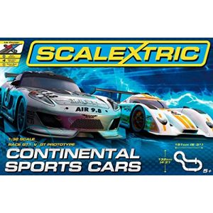 Scalextric C1319 - Circuit Continental Sports Cars