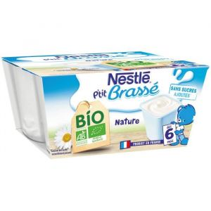 Nestlé P'tit brasse nature bio