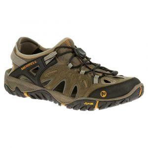 Merrell All out blaze sieve, Chaussures de Randonnée Basses homme - Marron (Brindle/B. Scotch), 43.5 EU