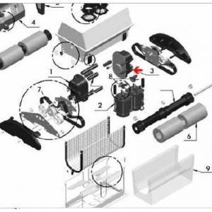 Procopi 1017820 - Moteur auxiliaire de traction UltraMax junior