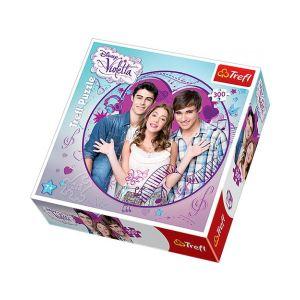 Trefl Puzzle rond : Violetta et ses amis 300 pièces