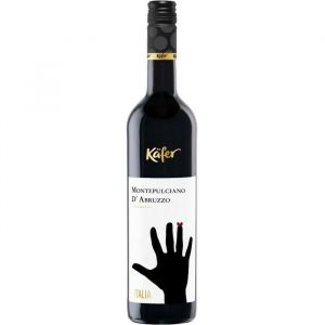 KAFER Montepulciano d'Abruzzo Vin d'Italie - Rouge - 75 cl - Vin d'Italie Kafer Montepulciano d'Abruzzo vin rouge