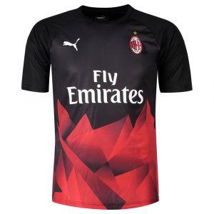 Puma Ac Milan Stadium International 19/20 Black / Tango Red - Taille L