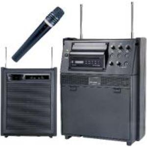 Europsonic EP 50 CD - Ensemble portable VHF amplifié