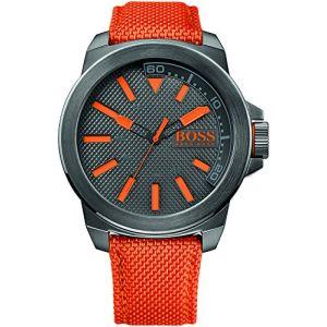 Hugo Boss HO7010 - Montre pour homme avec bracelet en tissu