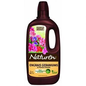 Naturen Engrais liquide biologique géranium et plantes fleuries