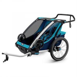 Thule Chariot - Poussette Remorque Cross 2 Bleu Noir -