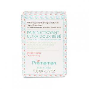 Premaman Pain nettoyant Ultra doux bébé visage et corps