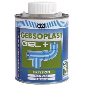 Geb Colle PVC spécial pression - 500 ml soplast gel -