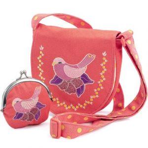 Djeco Sac et porte-monnaie oiseau