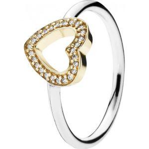 Pandora 190925CZ - Bague Symbole de l'Amour pour femme en argent