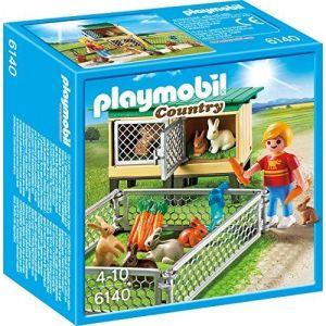 Playmobil 6140 Country - Étable à lièvres avec enclos libre