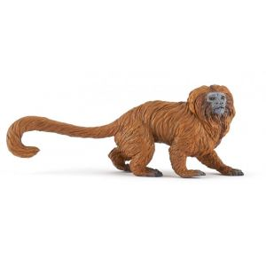 Papo Figurine Tamarin Lion Dore - 50227