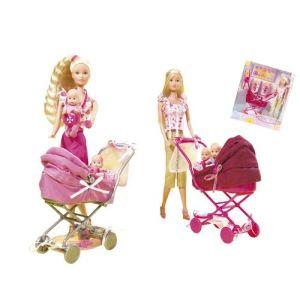 Simba Toys Steffi Love Landau des jumeaux (modèle aléatoire)