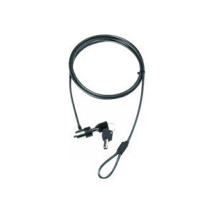 Dicota Câble de sécurité pour PC portable - Gris - 2 m