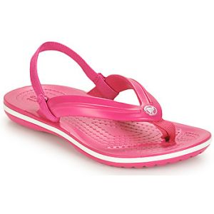 Crocs Tongs enfant CROCBAND STRAP FLIP K rose - Taille 30 / 31,24 / 25,23 / 24,25 / 26,27 / 28,29 / 30,22 / 23
