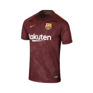 Nike T-shirt enfant Maillot Barcelone Third 2017-18 violet - Taille 8 ans,10 ans,12 ans