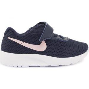 Nike TANJUN VLC - NOIR /ROSE - fille - CHAUSSURES BASSES