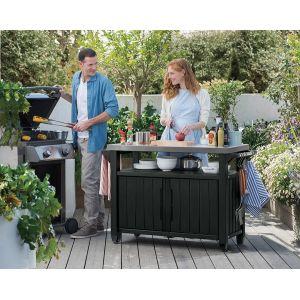Keter CJ931336 - Grand buffet en résine pour barbecue
