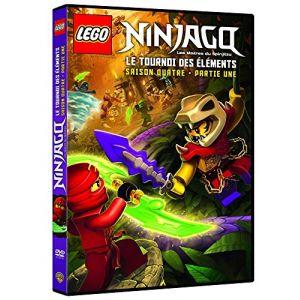 LEGO Ninjago, Les maîtres du Spinjitzu - Saison 4 - Le tournoi des éléments - Partie 1 [DVD]