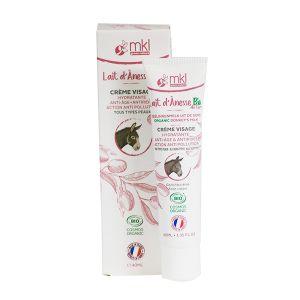 Mkl green nature Crème visage hydratant lait dÂ'ânesse bio 40 ml