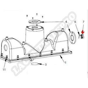Procopi 1019024 - Axe d'entraînement de moteur traction Lazernaut