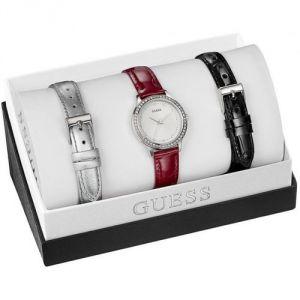 Guess W0654L1 - Coffret montre pour femme avec 3 bracelets