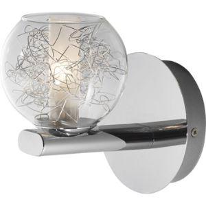 Eglo Applique Altone en métal et sphère en verre (16 cm)